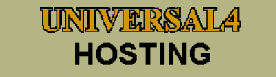 Universal 4 Computers and Universal 4 Hosting Domains